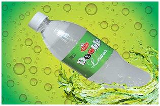Lemon Flavored Sweetened Carbonated Beverage
