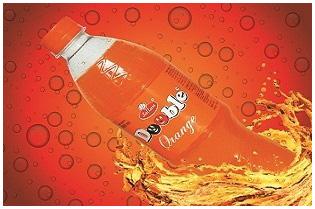 Orange Flavored Sweetened Carbonated Beverage