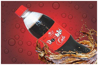 Cola Flavored Sweetened Carbonated Beverage